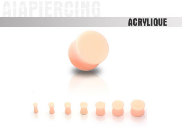 DESTOCKAGE Plug couleur chair - de 3 à 25mm
