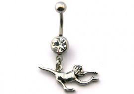 DESTOCKAGE piercing nombril singe 2