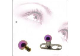 DESTOCKAGE Bille acier 2mm violette