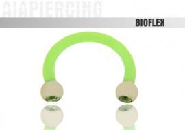 flexible 1,6x10mm - cristaux verts 3mm