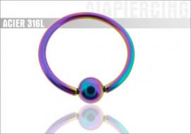 DESTOCKAGE BCR arc en ciel - jonc 1,6mm