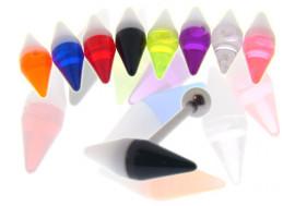DESTOCKAGE acrylique gélule fluo