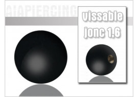 Accessoire piercing Bille blackline 1.6mm