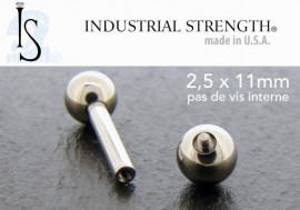 Barbell Industrial Strength® 2,5mmx11mm