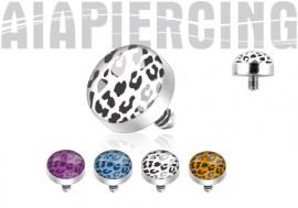 DESTOCKAGE Accessoire microdermal léopard