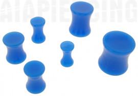 DESTOCKAGE Plug acrylique bleu