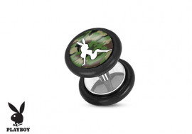 Faux plug Playboy® pin-up camouflage