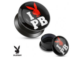 DESTOCKAGE Plug acrylique I love Playboy®