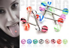Piercing langue hélice