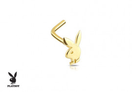 Piercing de Nez lapin Play Boy ® Or jaune