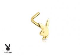 Piercing de Nez lapin Play Boy ® Or jaune