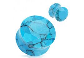 Plugs bleu turquoise