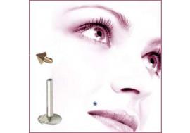 Madonna pointe plaqué or