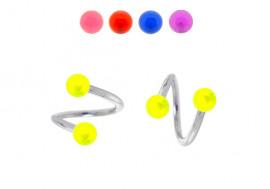 Spirale billes acryliques