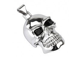 Pendentif acier chirurgical skull