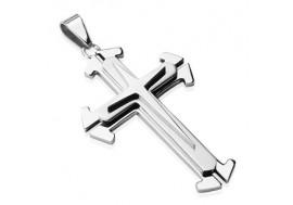Pendentif triple croix