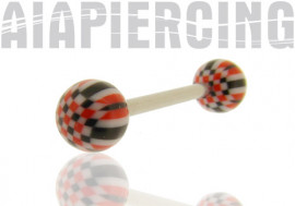 DESTOCKAGE Piercing barbell acrylique