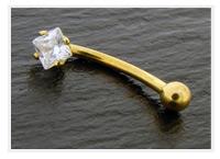 arcade en or 1 pierre