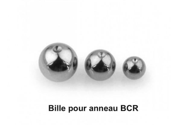 Piercing accessoire bille BCR