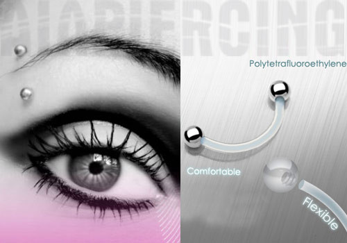 piercing arcade discret piercing arcade flexible invisible aia piercing. Black Bedroom Furniture Sets. Home Design Ideas
