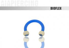 flexible 1,6x8mm - cristaux bleus 3mm