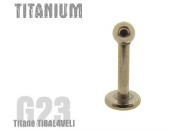 Labret Titane bille de 3mm