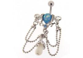 Piercing nombril chandelier Venise