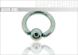 DESTOCKAGE bleu clair - jonc 2,5mm