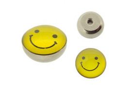 Piercing accessoire Smiley