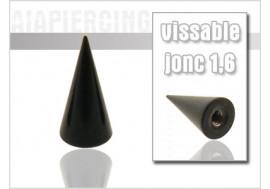 Accessoire Pointe 1,6mm blackline 4mm x 8mm