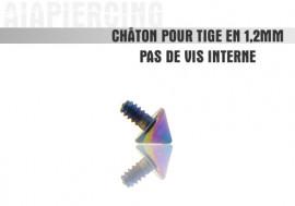 Piercing accessoire Châton pointe essence