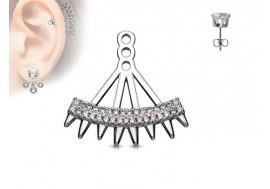Piercing oreille Ear Cuff graphique