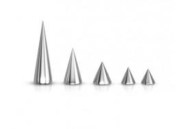 Accessoire piercing spike acier 1.6mm