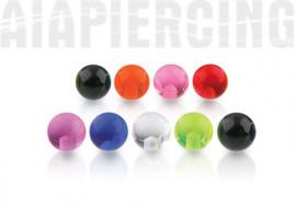Accessoires acryliques transparents 1,2mm x 3mm