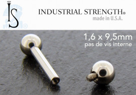 Barbell Industrial Strength® 1,6mmx9,5mm