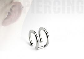 faux anneaux d'oreilles - double