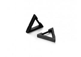 Piercing boucle d'oreille homme anneau triangle