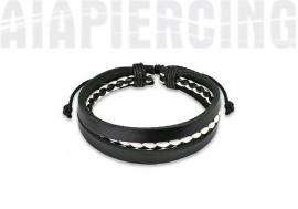 bracelet cuir 17