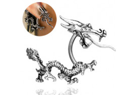 Piercing pour le lobe dragon