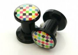 DESTOCKAGE piercing plug pattern 5mm