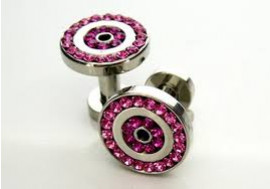 DESTOCKAGE piercing tunnel rose 3mm