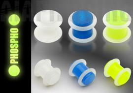 Piercing plug droit phospho
