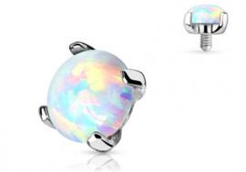 Microdermal Opale Or blanc