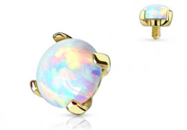 Microdermal Opale Or Jaune