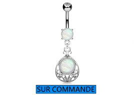 Piercing Nombril oriental Opale