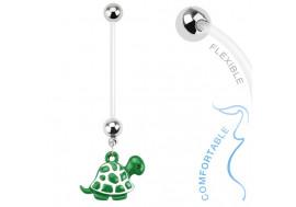 Piercing tortue