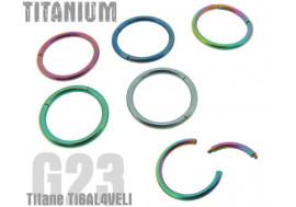 Anneau segment titane G23 1,6x10mm