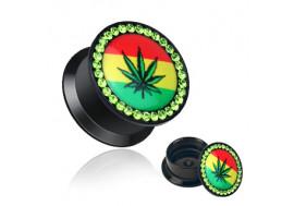 Plug cannabis et pierres