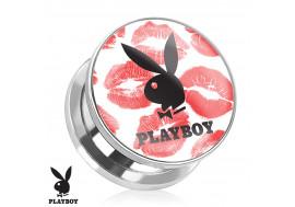 DESTOCKAGE Plug acier Playboy® lèvres