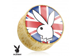 Piercing Plug bois Playboy® UK